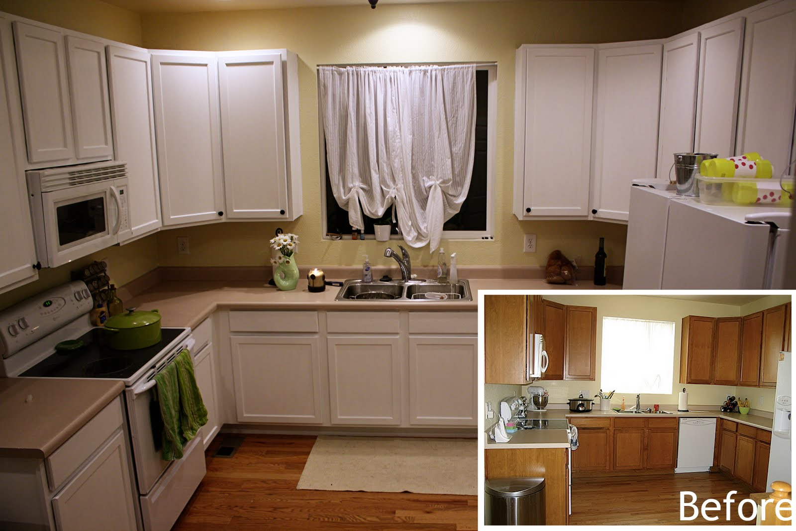 rustoleum cabinet transformations pure white paint it like new. Black Bedroom Furniture Sets. Home Design Ideas