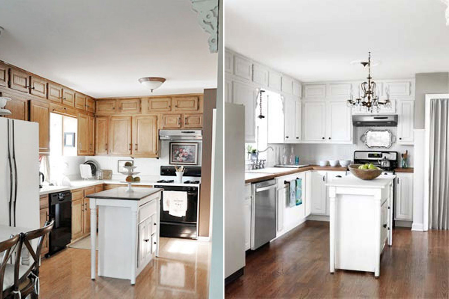 Kitchen Decoration And After Kitchen Decoration Paint It Like New