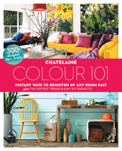 Chatelaine book cover paint it like new for Home decor 101
