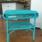 Wicker sidetable Reg. $30 Sale:$15