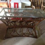 Rattan sofa table Reg. $90 Sale: $45
