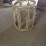 Rattan side table Reg: $60 Sale: $30