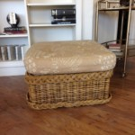 Ottoman with cushionReg: $70 Sale: $35
