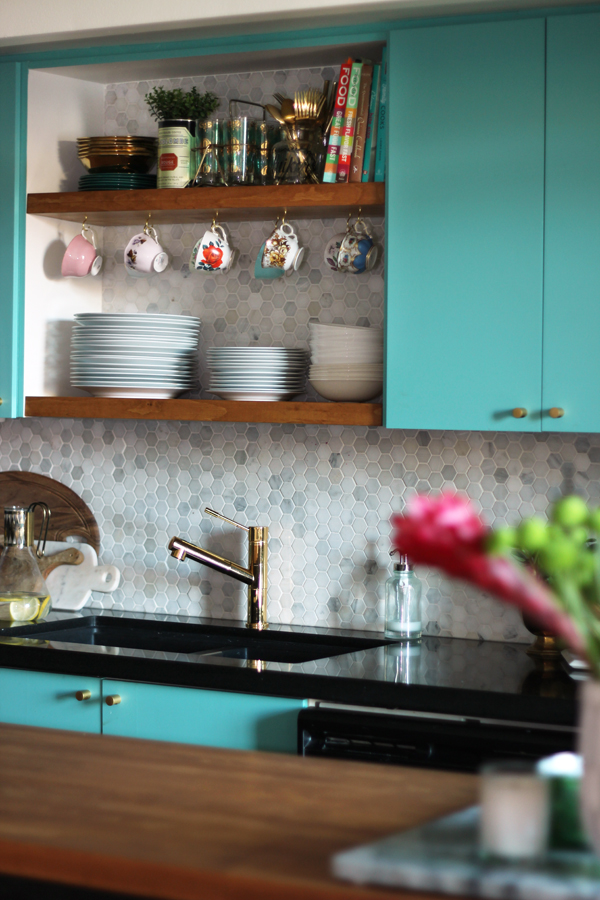 modern vintage kitchen makeover 14