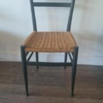 Chair with woven seat Reg $40 Sale: $20